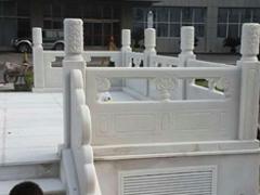 汉白玉旗台栏杆