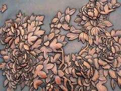 贵阳植物锻铜浮雕