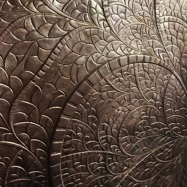 锻铜壁画浮雕